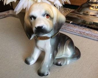 Vintage Beagle Figurine Collectible-Animals-Home Decor-Beagle Collectibles-Dog Collectibles