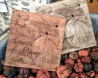 Pumpkin Patch Corner Gauge
