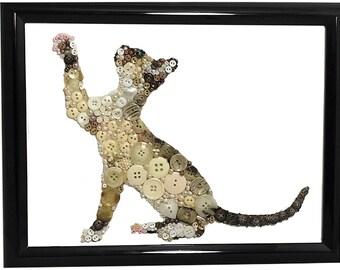 Siamese kitten at play