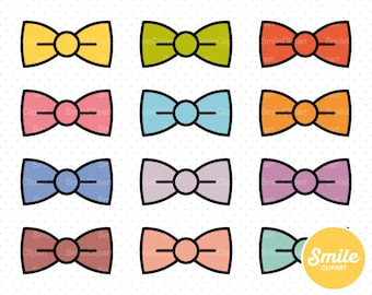 Bow Tie Clipart Illustration for Commercial Use | 0252