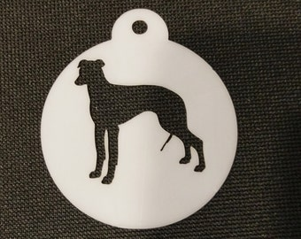 Greyhound Cupcake Cookie Biscuit Coffee Stencil - 2 sizes available