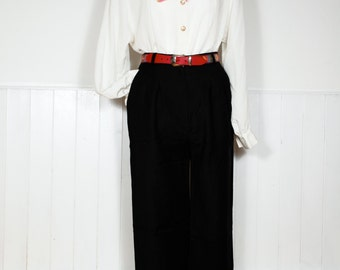 Vintage Pleated Blouse