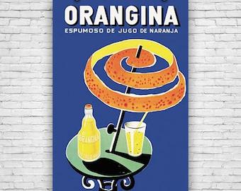 Orangina, Espumoso De Jugo De Naranja, Art Print Poster