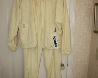 New Yellow Two Piece  Pant Suit size XL  fits 12-14