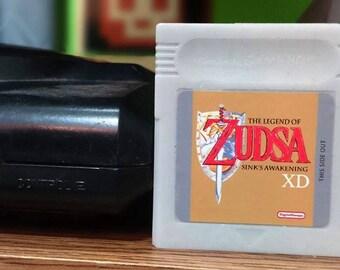 SOAP Gameboy Zelda cartridge parody, gameboy, guest soap favors, guest soaps, mini soap, Legend of Zelda, mini soap favors, loz, mini soaps
