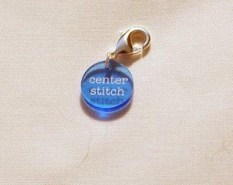 Center stitch clasped markers