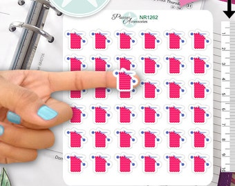 Knitting Stickers Knit Stickers Planner Stickers Erin Condren Functional Stickers Daily Chore Stickers NR1262