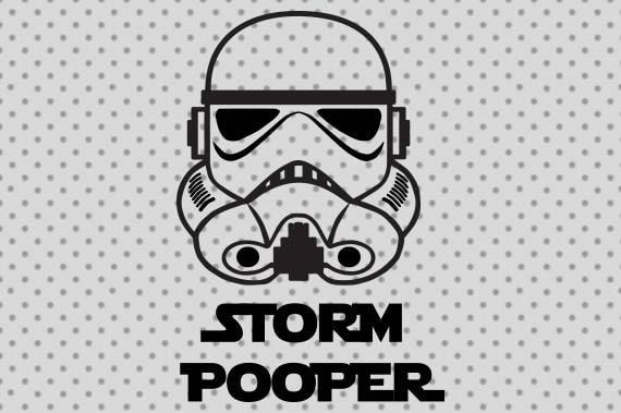 Star wars svg Storm pooper svg Storm pooper Star wars
