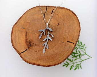 leave necklace, silver leave jewelry, silver leave pendant, silver leaf jewelry, silver leave necklace, leaves necklace, nature necklace