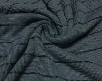 Ribbed Design Knit Fabric 2- Yards