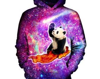 Panda Hoodie | Rave, EDM, Festival Hoodie