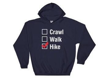 Hike Idaho Hoodie, Idaho Shirt, Idaho gifts, Hiking shirt, Hiking Sweatshirt