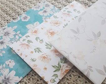 Vintage Floral Money Envelopes (Set of 5)