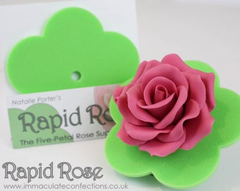 The Rapid Rose (baking and sugarcraft supplies, for sugar flower/rose making+FREE Tutorial)