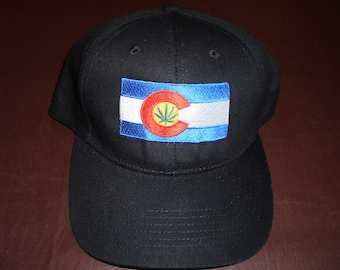 Colorado Flag Weed Hats