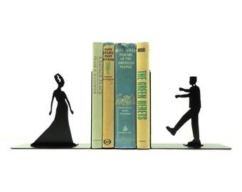 Frankenstein & Bride Bookends