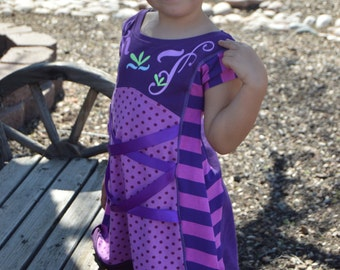 A Sparkly Baby Pretty Panel Dress Tunic sizes P-14 with Free Tutorials and Tons of Options!