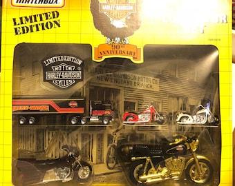 Matchbox Harley Davidson 90th Anniversary Collectors Set