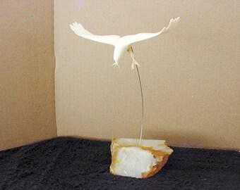 Marvin Wernick Flying Eagle Sculpture 1974