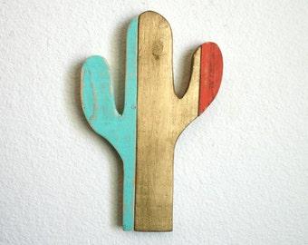 Cactus Wood Cutout. Rustic Decor. Home Decor. Desert. Arizona. Southwest. Cactus. Nursery.
