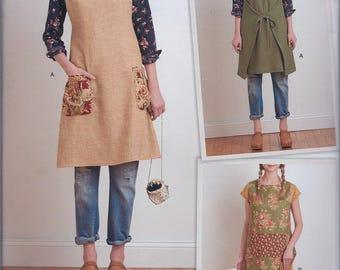 Simplicity 8230 Misses Dottie Angel Apron Dress Reversible Tabard UNCUT Sewing Pattern