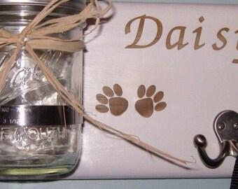 Personalized Dog Leash &  Treat Holder