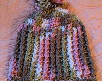 Crochet Baby Hat 6-12 Months