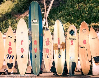 California,Beach,Malibu,Coastal Wall Art,Beach Decor,Surf,Boho Chic,Bathroom Art,Home Decor,Wall Hanging,Print,Extra Large Wall Art