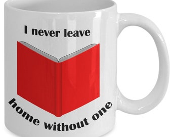Funny Book Lover's Mug
