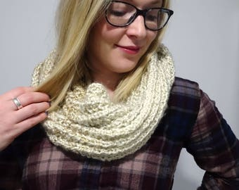 Knitted Oat Snood