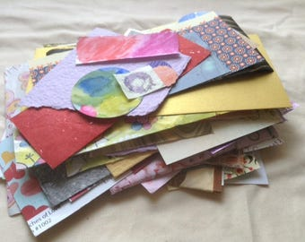 Paper Scrap Pack FREE SHIPPING