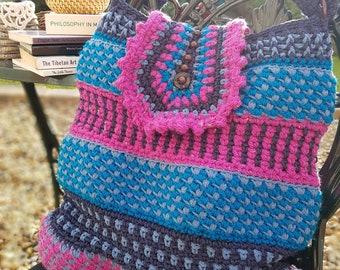 The Bazaar Tote - Intermediate Crochet Pattern