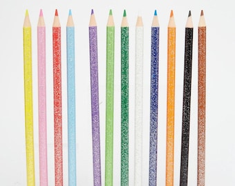 Sketching Pencils With Rubbers - Pack of 8 Colour Changing Pencils
