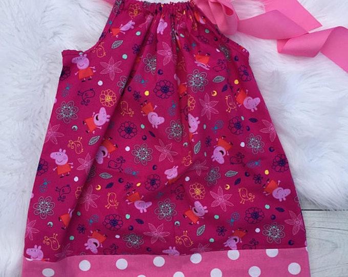 Peppa Pig Flower Garden Pillowcase Dress