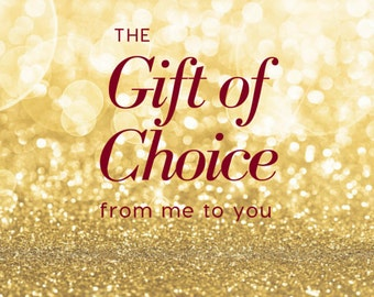 Email Gift Card - Gift Certificate - Last Minute Shopping - International Gift Card - Gifts Under 100
