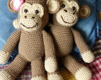 Chango and Changa Monkey Crochet Pattern
