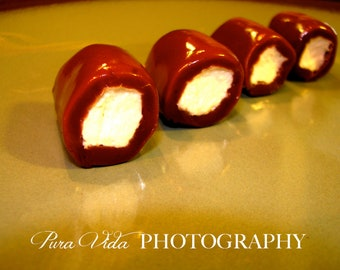Caramel + Marshmallows + CHOCOLATE = Chocolate CARAMALLOWS - Great for WEDDING, Engagement, Party Favors, gift or keep for yourself
