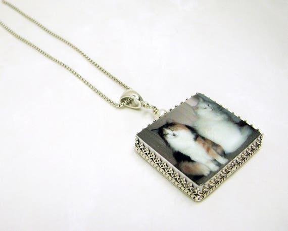 Memory Photo Pendant Necklace