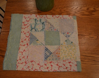 Farmhouse, rustic, primitive, country, cottage chic, shabby chic, prairie chic, rustic chic, vintage, old quilt cutter piece