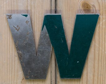 Vintage Letter W,  Alphabet, W, Wall Art, Names, William, W