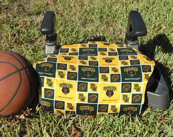 Baylor University  toddler booster seat cover--booster seat not included
