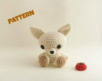 Amigurumi Chihuahua Pattern, Crochet Doll Pattern, Amigurumi Chihuahua Pattern, Amigurumi Dog Pattern, Crochet Amigurumi Pattern, Kids Toys