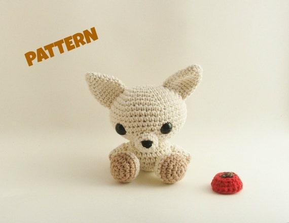 Amigurumi Chihuahua Pattern Crochet Doll Pattern Amigurumi