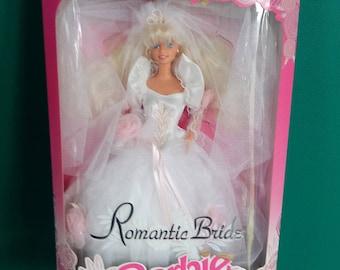 Mattel 1992 Romantic Bride Barbie Doll New in Box