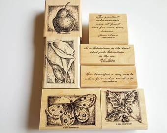 Ageless Adornment - Stampin' Up! Rubber Stamp Set - Retired Stampin Up Stamp Set - Rubber Stamps - Stampin Up - Rubber Stamps Set