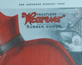 Wearever Advertisement from Saturday Evening Post 1919