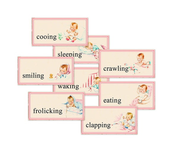 It is a photo of Superb Printable Flashcards for Babies