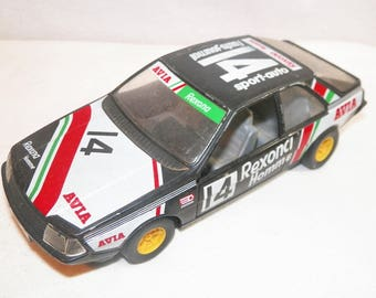Vintage RENAULT FUEGO Collectable Car, Made In Itally, BURAGO Scala 1/24, Old Vintage Race Car, Rare Old Car, Antiqu?, Hard To Find Car