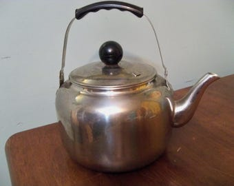 large stainless steel  kettle pot with lid