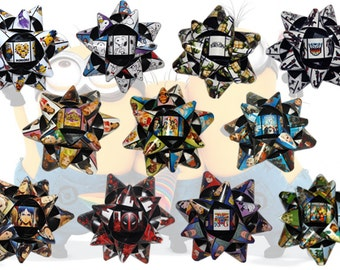 Handmade Gift Bows - Kids Anime Games Comic Superfriends Transformers & More